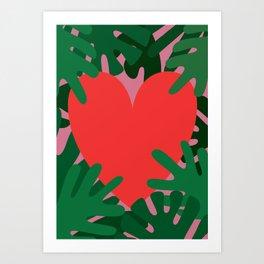 Wild Does My Love Grow Art Print