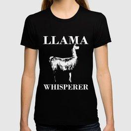Creative Llama Tee For Men And Women T-shirt
