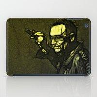 u2 iPad Cases featuring U2 / Bono 1 by JR van Kampen