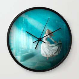 Cathedrals of the Mind Wall Clock