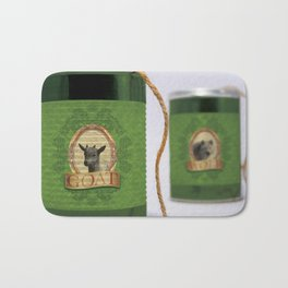 THE SHE GOAT, THE KID & THE WOLF Bath Mat