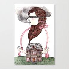Little Smokes Canvas Print