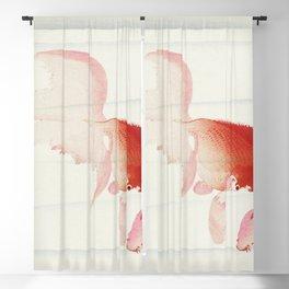 Gold fish (1900 - 1936) by Ohara Koson (1877-1945) Blackout Curtain