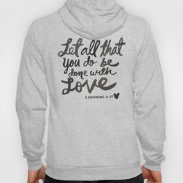 With Love Hoody