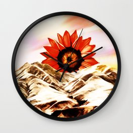 Good morning sun Wall Clock
