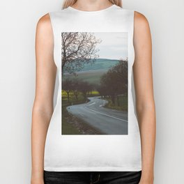 Along a rural road - Landscape and Nature Photography Biker Tank