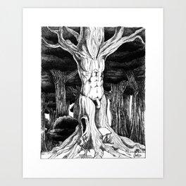 Male Dryad Art Print