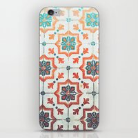 orange pattern iPhone & iPod Skins featuring Orange pattern by Travel Cards