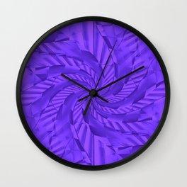 Swirlin' down the road.... Wall Clock