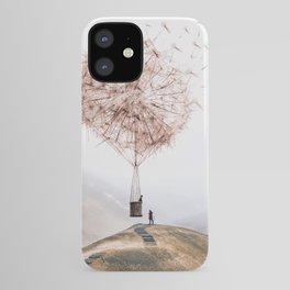 Flying Dandelion iPhone Case
