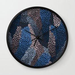 Deep ocean pattern Wall Clock