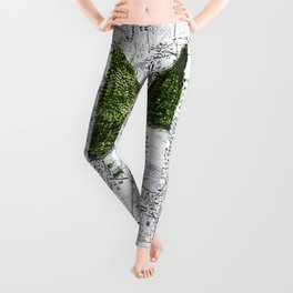 Green Desease Leggings