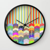 one direction Wall Clocks featuring One Direction by TT Smith