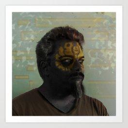 Self as Psychopomp #digitalart #digitalphotography Art Print