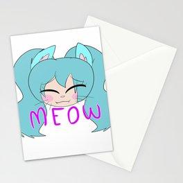 Neko Miku Stationery Cards
