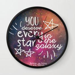 EVERY STAR Wall Clock