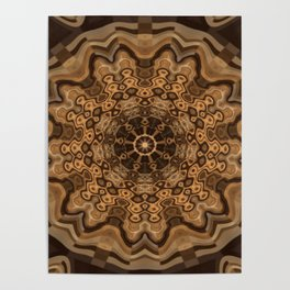 Sequential Baseline Mandala 33 Poster