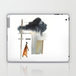 Returning home before the storm Laptop & iPad Skin