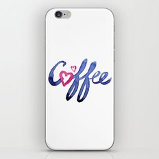 Coffee Lover Typography iPhone & iPod Skin