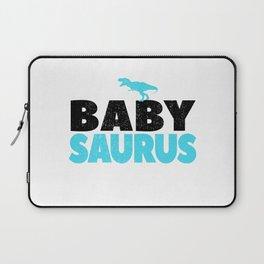 Baby Saurus Boy Girl Kids Dino Dinosaur T-Rex Gift Laptop Sleeve