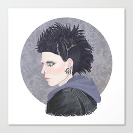 Lisbeth #1 Canvas Print