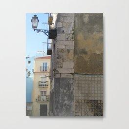 Bom dia Lisboa Metal Print
