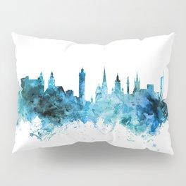 Glasgow Scotland Skyline Pillow Sham