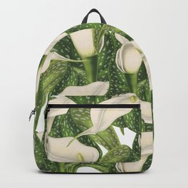 Calla lily flower pattern Backpack