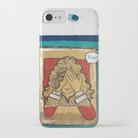 pain iPhone & iPod Cases featuring Pain by Thiffany