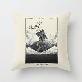 Fig. III - The Empress Throw Pillow