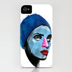 Woman's head iPhone (4, 4s) Slim Case