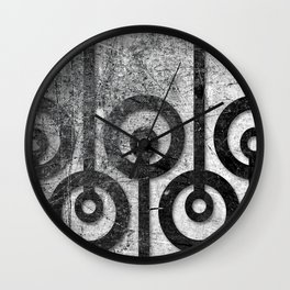 Order in Abstract II Wall Clock