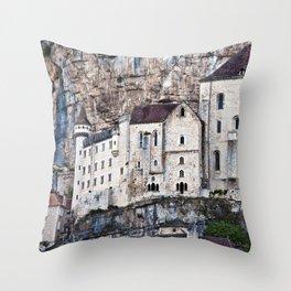 MEDIEVAL SOUND of ROCAMADOUR Throw Pillow