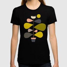 Flower Cat Plants T-shirt