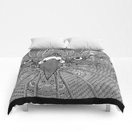 GinaMirandArt-Eagle Totem Comforters