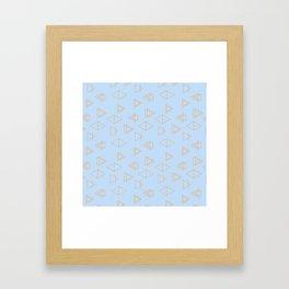 Geo Joy Framed Art Print