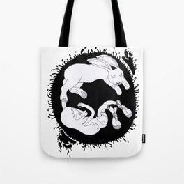 TAO - sleeping beauty and the bunny Tote Bag