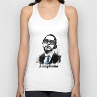 obama Tank Tops featuring Obama Swag by mMel