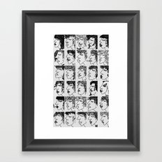 humans Framed Art Print