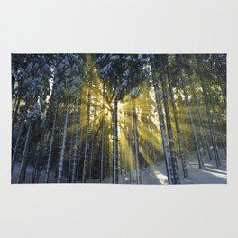 The Golden Light (Color) Rug
