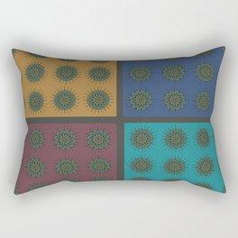 Himalayan Candy Combo - Mini Mandala Pattern Rectangular Pillow