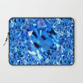 SEPTEMBER BLUE TOPAZ GEMMY  BIRTHSTONE ART Laptop Sleeve