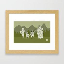 Gang is here! Framed Art Print