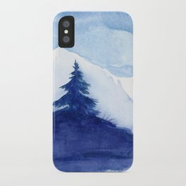 Winter scenery #12 iPhone Case