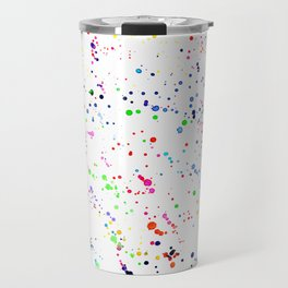 Joy splatters || watercolor Travel Mug