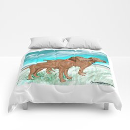 Vizslas by the Sea Comforters
