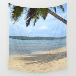 Caribbean beach 02 Wall Tapestry