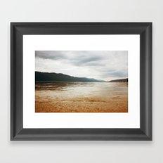golden sands Framed Art Print