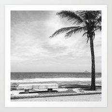 RIO B&W Art Print