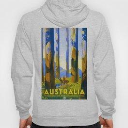 Vintage poster - Australia Hoody